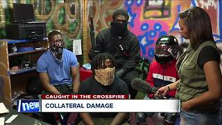 Gang members say kids caught in the crossfire are 'collateral damage' - Video