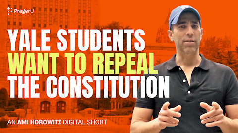 Yale Students Want To Repeal The Consitution