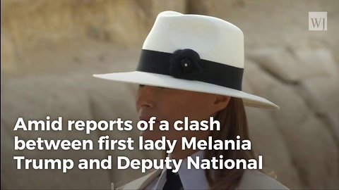 Melania Trump Publicly Calls for White House Official To Be Removed