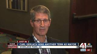 OP Mayor Carl Gerlach wins re-election - Video