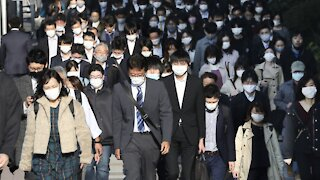 Japan Reports Record Cases Of COVID-19