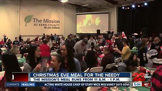 The Kern County Mission hosts annual Christmas meal