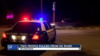 43-year-old man dies after being pulled from the Kinnickinnic River - Video