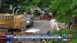 After Ellicott City flood, calls to stop development, but how does it really impact flooding?