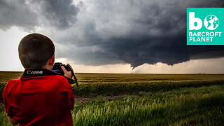 The 7-Year-Old Storm Chaser - Video