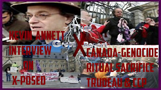 Kevin Annett Xposed! - Interview Part 1 - Canadian GENOCIDE Crimes of Church and State
