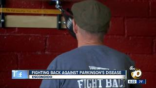 Fighting back against Parkinson's Disease at Escondido gym - Video