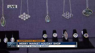 Merry Market holiday shop at Detroit's Eastern Market - Video