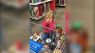 Shopping Santa Surprise - Video