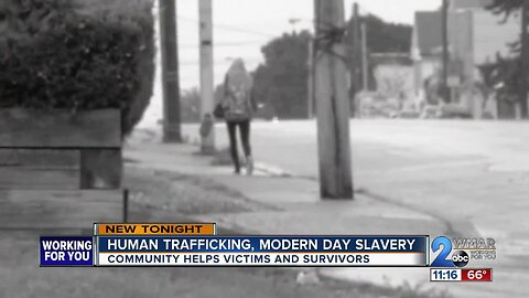 Baltimore women helps human trafficking victims become survivors
