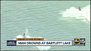 MCSO recovers body at Bartlett Lake - Video