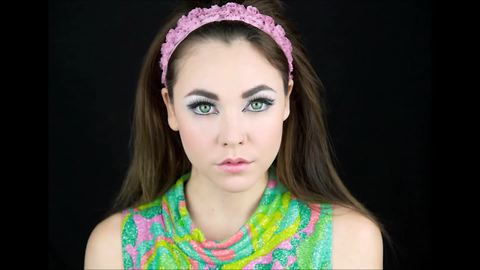 1960's inspired makeup tutorial with modern twist