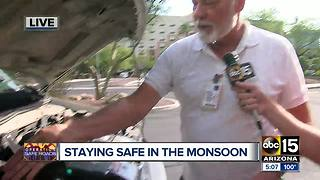 Prepping your car for safe travel during Monsoon season - Video