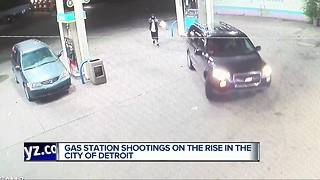 Gas station shootings on the rise in metro Detroit - Video