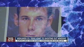 Two teens arrested for BB gun rampage - Video