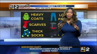 FORECAST: Gusty Winds & Dangerous Cold - Video