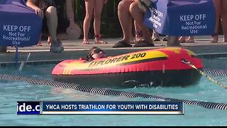 Treasure Valley YMCA and RODS Jr. hosts triathlon for children with disabilities - Video