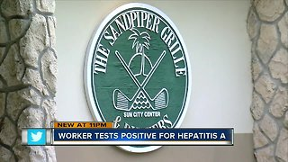 Food service worker at Sandpiper Grille tests positive for hep A, Department of Health says