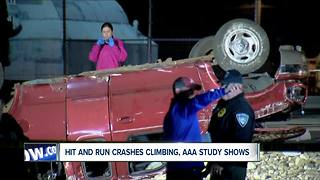 Hit and run deaths hit record high, AAA reports--6pm - Video