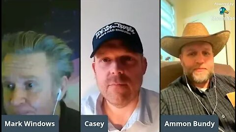 Ammon Bundy discusses Peoples Rights w/ Windows on the World
