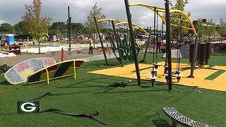 Titletown District park ready to be unveiled - Video
