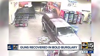 Surveillance video released in Chandler firearms heist