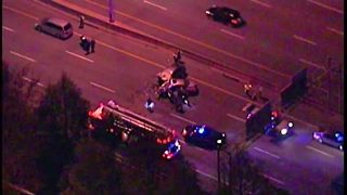 Deadly crash closes 90 Eastbound at West 44th Street - Video