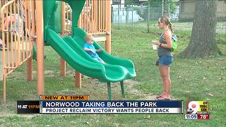 Norwood residents taking back their park - Video