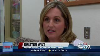 Tucson Medical Center looks to educate people about cord blood donations - Video
