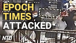 Intruders Attack The Epoch Times in Hong Kong; Biden Admin. Sued Over Immigration Exec. Orders | NTD