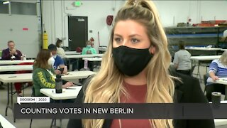 Officials in New Berlin hope to wrap up ballot counting