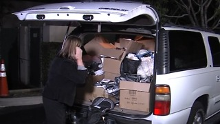 SUV stolen with Christmas gifts inside, returns 2 weeks later untouched - Video