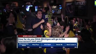 Fans react to Michigan's loss in the National Championship - Video