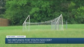 Parents struggling to get refunds for canceled youth soccer programs