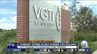 Company offers to buy VGTI building in Port St. Lucie - Video
