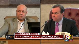 Cincinnati City Manager Harry Black signs $393K deal to resign - Video