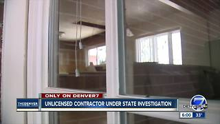 Unlicensed contractor in Colorado under investigation after asbestos spill - Video