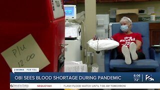 Healthcare Professionals Facing A Blood Shortage Across the State