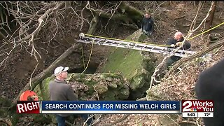 Search continues for missing Welch girls