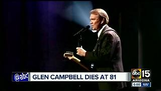 Glen Campbell dies at 81 - Video