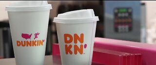 Free coffee and donut for healthcare workers