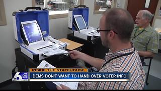 Idaho Democrats urge Secretary of State not to turn over voter information to Trump team - Video