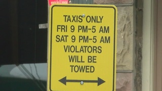 Beware of taxi zones in downtown Boise - Video
