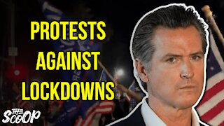 Protesters Gather To Rally Against California's New Lockdown Orders