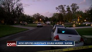 HCSO deputies investigate double murder-suicide - Video