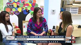 Guadalupe Center awarded for community service - Video
