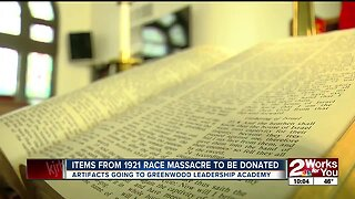 Items From the 1921 Tulsa Race Massacre to be Donated