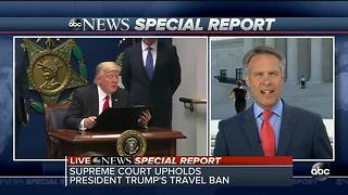 Supreme Court upholds travel ban - Video