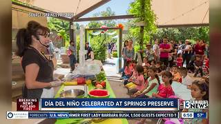 Celebrating Día del Niño at the Springs Preserve - Video