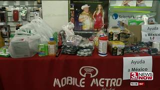 Omaha group collects items for quake victims - Video